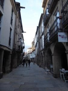 319. Santiago de Compostela. Calle Nova