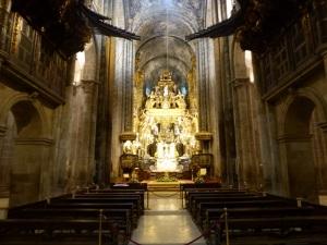 333. Santiago de Compostela. Catedral. Nave central