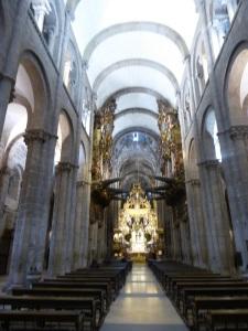 335. Santiago de Compostela. Catedral. Nave central