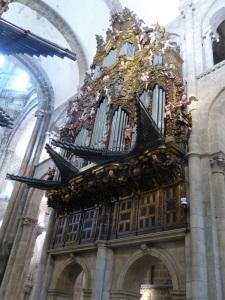 341. Santiago de Compostela. Catedral. Órgano