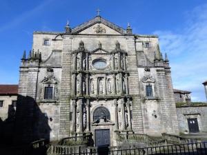 351. Santiago de Compostela. San Martín Pinario. Iglesia