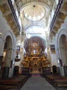 353. Santiago de Compostela. San Martín Pinario. Iglesia. Interior