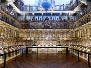 358. Santiago de Compostela. San Martín Pinario. Sillería del Coro. 1639-1647