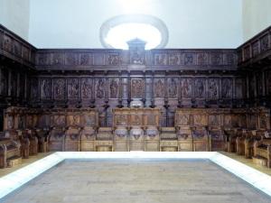 363. Santiago de Compostela. San Martín Pinario. Coro lígneo de la catedral