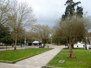 370. Santiago de Compostela. La Alameda
