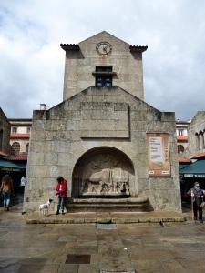 374. Santiago de Compostela. Plaza de Abastos