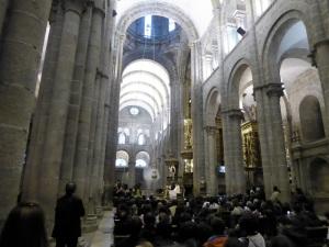 386. Santiago de Compostela. Catedral. Misa de peregrinos