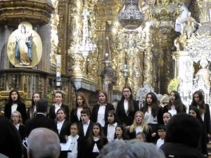 390. Santiago de Compostela. Catedral. Escolanía de la catedral