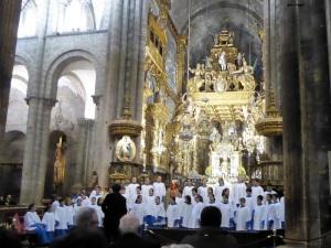 391. Santiago de Compostela. Catedral. Escolanía de Lluc