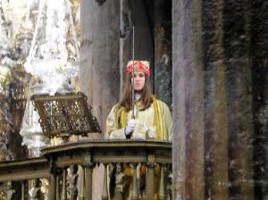 393. Santiago de Compostela. Catedral. Escolanía de Lluc