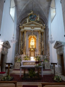 397a. Pontevedra. iglesia de la Peregrina