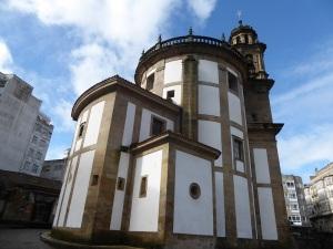 398. Pontevedra. Iglesia de la Peregrina