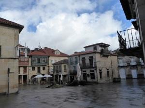 401. Pontevedra. Plaza de la Leña