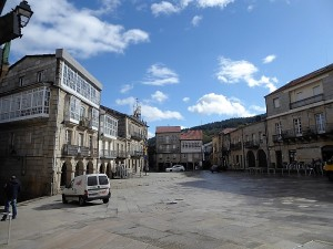 461. Ribadavia. Plaza Mayor