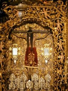 505. Orense. Catedral. Capilla del Santo Crsito. Santo Cristo del XV