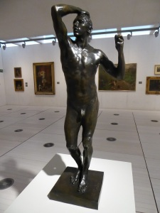 A. Rodin. La Edad de Latón. 1876