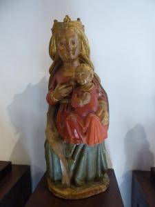 Nosa Señora de Vallibria. Virgen de la Leche. XVI