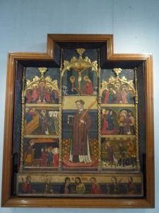 Retablo de San Esteban. Círculo de Jaime Cabrera (1394-1432)