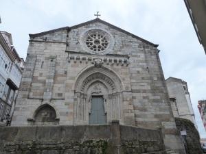 155. La Coruña. Iglesia de Santiago