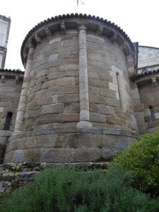 157. La Coruña. Iglesia de Santiago. Ábside central