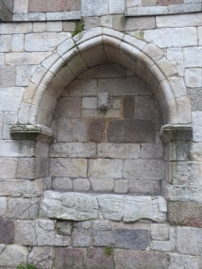 Arcosolio fachada oeste