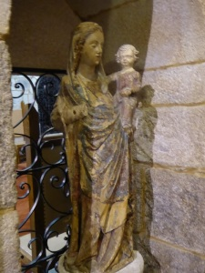 Virgen con Niño. XIV