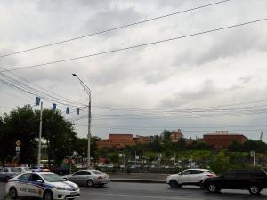 010. Ereván. Desde la puerta del hotel
