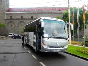 011. Ereván. Nuestro bus