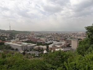 024. Ereván desde el Parque de la Victoria