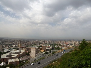 027. Ereván desde el Parque de la Victoria