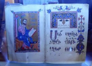 067. Ereván. Matenadarán. Evangelio. Siglo XIII. Cilicia