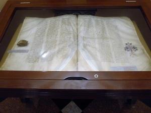 076. Ereván. Matenadarán. Homilía de Mush de 1200 de 24 Kg y calendario eclesiástico de Crimea de 1436 de 19 gr.