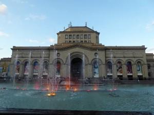 1060. Ereván. Plaza Republica