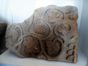 197. Templo de Zvartnots. Museo