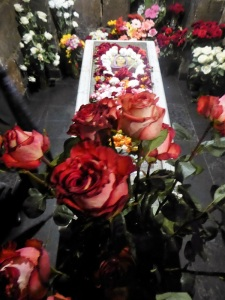 214. Echmiadzin. Santa Hripsimé. Cripta. Sepulcro de la santa