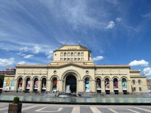 276. Ereván. Plaza de la República