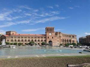 288. Ereván. Plaza de la República