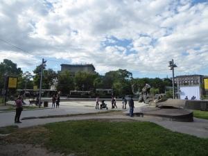 293. Ereván. Plaza de Francia