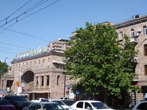 309. Ereván. Antiguo mercado de flores