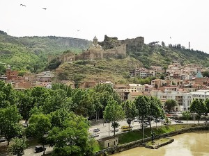 597. Tiflis. Fortaleza de Narikala