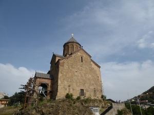 609. Tiflis. Iglesia de Metekhi