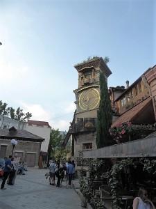 641. Tiflis. Torre del Reloj