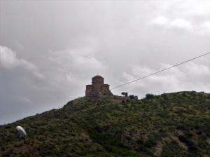 667. Hacia Gori. Iglesia de Jvari