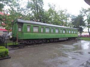 668. Gori. Vagón de tren de Stalin