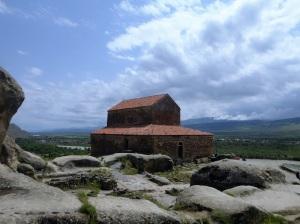723. Uplistsikhe. Iglesia de Uplitsulis (siglo X)