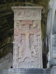 857. Monasterio de Haghpat. Krachkar del Santo Salvador (Varham. 1273)