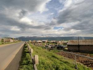 910. Camino a Ereván y el Ararat