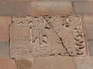 943. Monasterio de Khor Virab. Santa Madre de Dios. San Gregorio Iluminador curando al rey Tirítades III