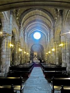 199. La Coruña. Santa María del Campo. Interior