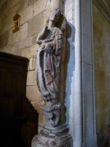 Ángel Anunciación al norte entrada